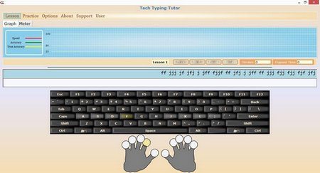 Learn typing in arabic