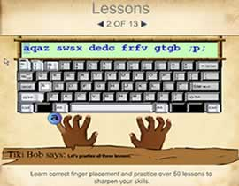 Learn touch typing software